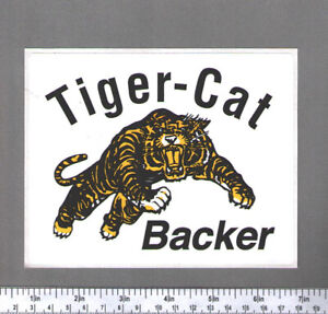 Wanted to Buy - Hamilton Tiger Cats Decals / Stickers