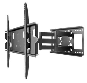 "Heavy Duty  42-80"" TV Full-Motion Wall Mount Load Capacity 100kg"