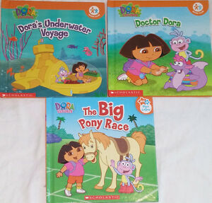 Qty 3 Sets of 3 Dora Hard Cover books London Ontario image 3