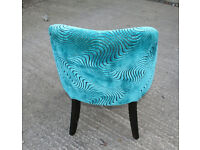 Funky Chair for Lounge, Bedroom, Hall - Cool Blue