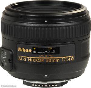 50mm nikon AF-S 1.4 G
