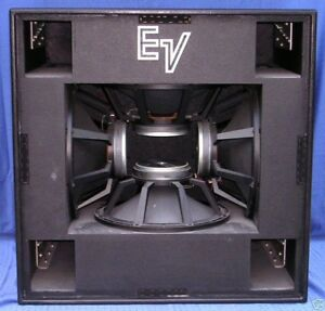 Subwoofers Electrovoice MTL-4 (la Paire, for Two)