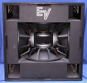 Subwoofers Electrovoice MTL-4 ( paire )