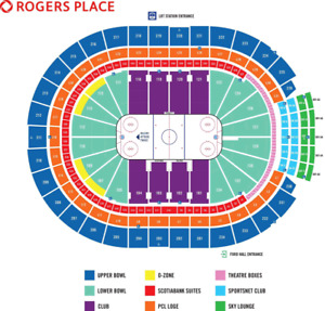 Habs VS OILERS MCDAVID VS Montreal 2 AWESOME TICKETS FOR SALE