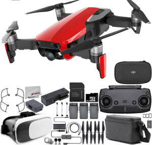 Mavic Air (Rouge) Fly more combo, Filtres, Support tablette