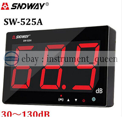 Sndway Sw-525a Digital Sound Level Meter 30130db Large Screen Display