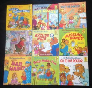 Berestain Bears book lot.  (9 books)