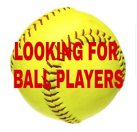 Looking for softball players
