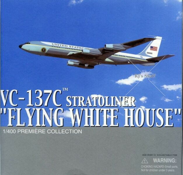"""RARE Dragon Wings #55660 US """"Flying White House"""" VC-137C Boeing Stratoliner 1:400 Scale Model"""