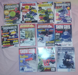 Snowmobile Magazines