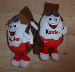 2 Kinder surprise stuffies $ 2 ea or both for $ 3