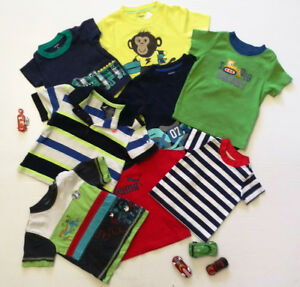 (1) T-shirts and polos for boys