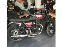 BRAND NEW Bullit Motorcycles Hunt S 125cc