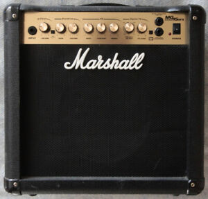 Marshall MG15DFX Combo Guitar Amp