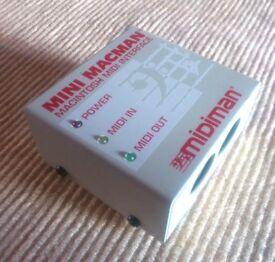 Retro-vintage Mini Macman - Midiman (Midi out/ Midi In)