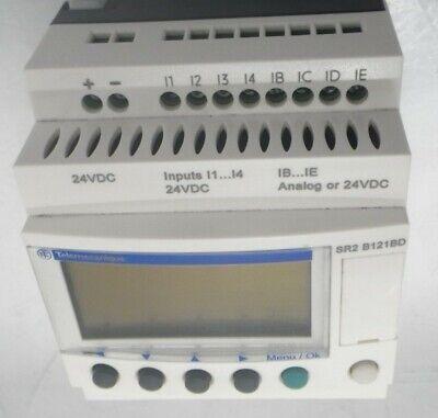 Zelio Logic Sr2 Smart Relay Programmable 24vdc 12-pin Schneider Electric
