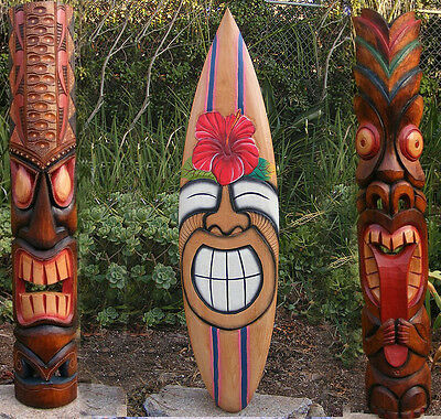 Tribal Tiki Mask Package Deal Hibiscus, Sun ...