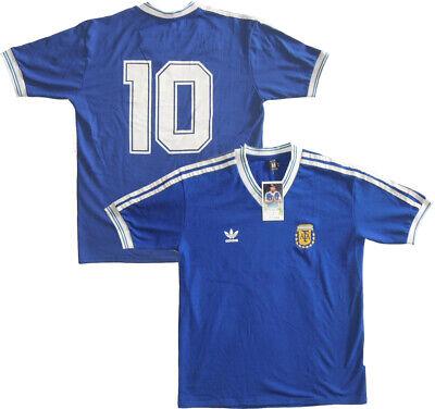 Camiseta Retro ARGENTINA Copa del Mundo 1990 #10 MARADONA Final