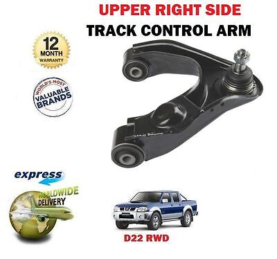 Front LH RH Track Control Arm Pair Kits Fit For Nissan Navara D22 1998-2004