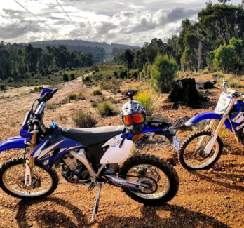 Yamaha WR450 2007. 5181km licensed