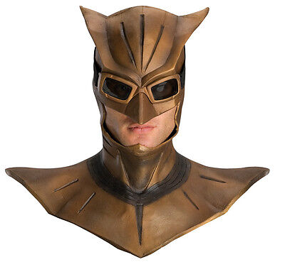 Watchmen Night Owl Adult Latex Costume Overhead Mask Rubies Licensed New (Owl Masks)
