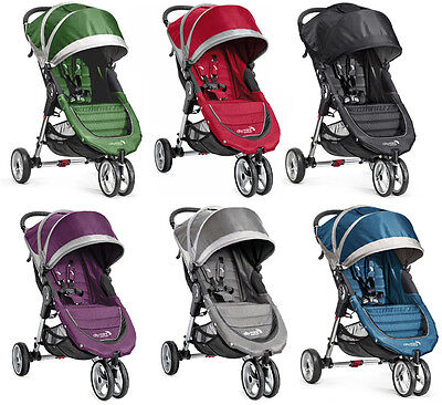 - Baby Jogger City Mini Compact Lightweight 3-wheel Stroller NEW - 6 COLOR CHOICES