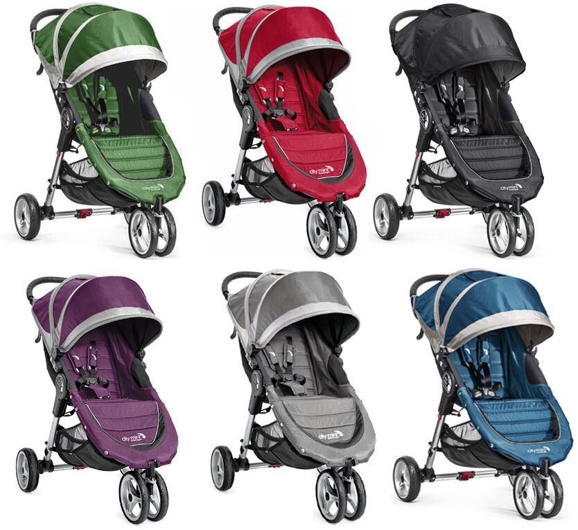 Baby Jogger City Mini Compact Lightweight 3-wheel Stroller N