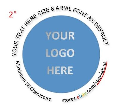 Custom Labels Personalized Stichers Round 2