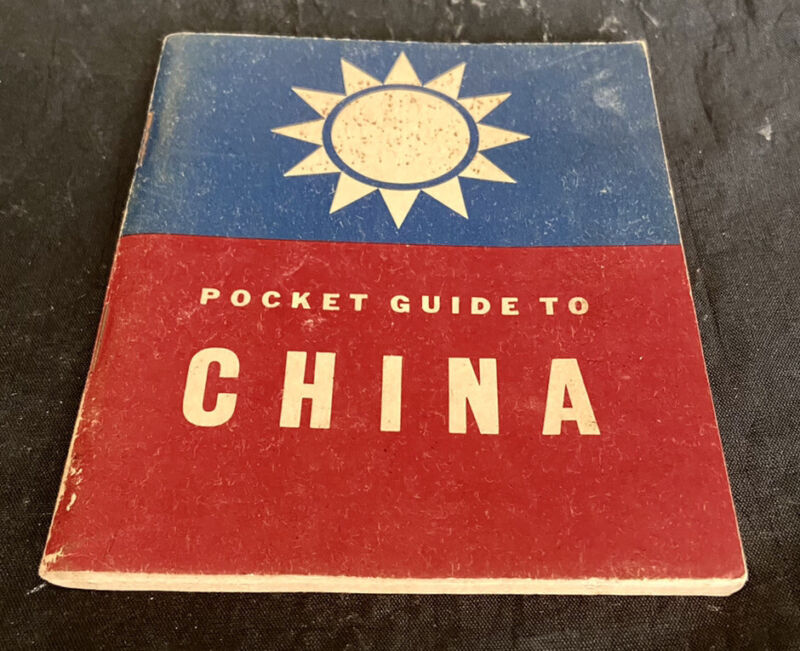Pocket Guide To China War Navy Departments By Special Service Division