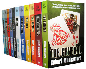 Cherub Collection 11 Books Set New Robert Muchamore