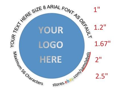 Custom Labels Personalized Stickers Round Tage Envelop Seals Bottle Products