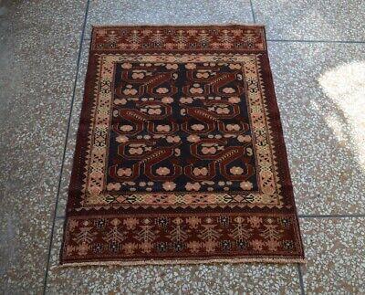 Room Rug Home Decor Rug Beluchi Rug Moroccan Rug SIZE : 2/'8 x 4/'8 Feet Vintage Handmade Afghan Tribal Baluchi 100/% Wool Traditional Rug
