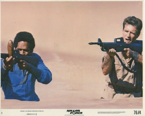 KILLER FORCE (1976) Original 8x10 Color Set