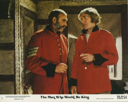 THE MAN WHO WOULD BE KING (1975) Original 8x10 Color Set - Sean Connery
