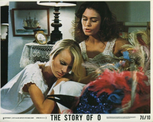THE STORY OF O (1976) Original 8x10 Color Set