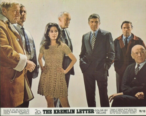 THE KREMLIN LETTER (1970) Original 8x10 Color Set