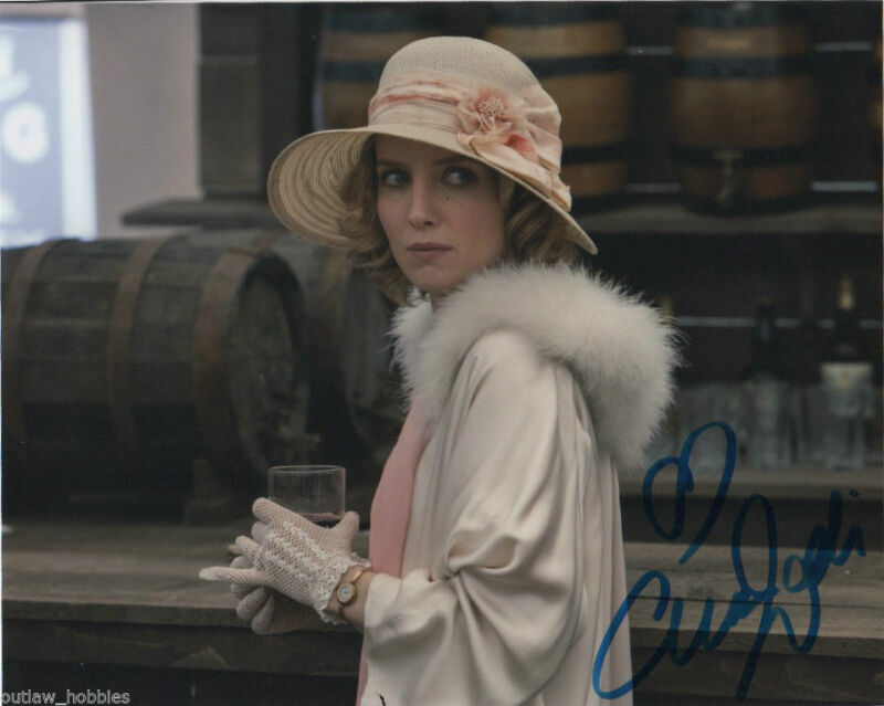 Annabelle Wallis Peaky Blinders Autographed Signed 8x10 Photo COA #1