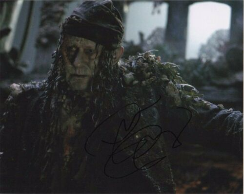 Stellan Skarsgard Pirates of the Caribbean Autographed Signed 8x10 Photo COA #A7