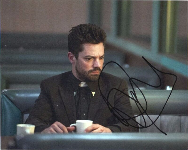 Dominic Cooper Preacher Autographed Signed 8x10 Photo COA #2