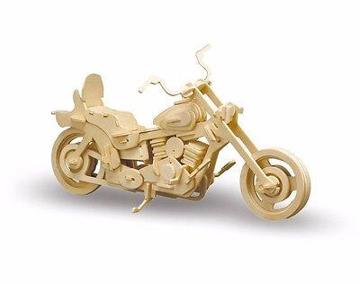 Holzbausatz Harley Davidson - 3D Puzzle Modellbau - Holzmodellbau M868-2