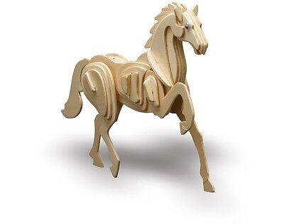 Holzbausatz Tiere Pferd - 3D Puzzle Modellbau aus Holz - Holzmodellbau M852-5