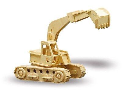 Holzbausatz Bagger - 3D Puzzle Modellbau Holzmodellbau M863-7