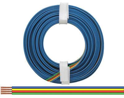 (0,598€/m) 1 Rollo Trenza De Cobre Cuatro Cables De Un Tipo 0,14...