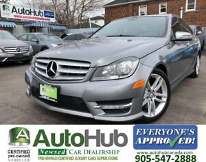2013 Mercedes-Benz C-Class C300-LEATHER-4 MATIC-SUNROOF-NAVIGATI