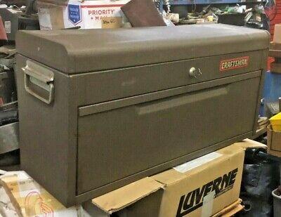 Craftsman 526 8-drawer Machinist Tool Maker Chest Box W Key Metal Lathe Storage