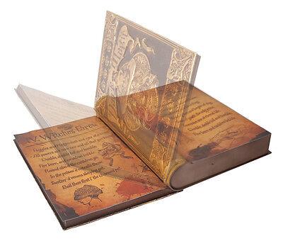 DEMON DARK MAGIC SPELL BOOK PROP ANIMATED - Dark Magic Book