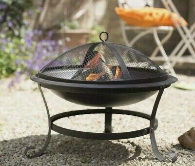 Serenity Steel Firepit La Hacienda Wood Burner Patio Heater 🔥Real Wood Fire