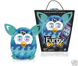 Furby-Boom-TEAL-BLUE-WAVES-BRAND-NEW-Sweet
