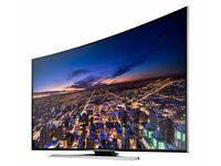 New Samsung 55inch 4k 3D Uhd Ultra LED Curved Smart TV complete with box and warranty amazing TV