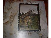Used Vintage vinyl album LP LED ZEPPELIN - IV - ZOSO 1971
